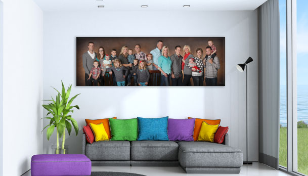 Family Panoramic Art Phoenix