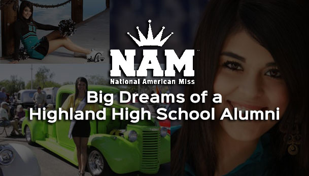 Highland High School Alumni a National American Miss Finalist