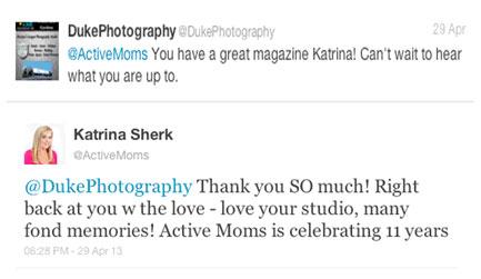 Katrina Sherk Active Moms