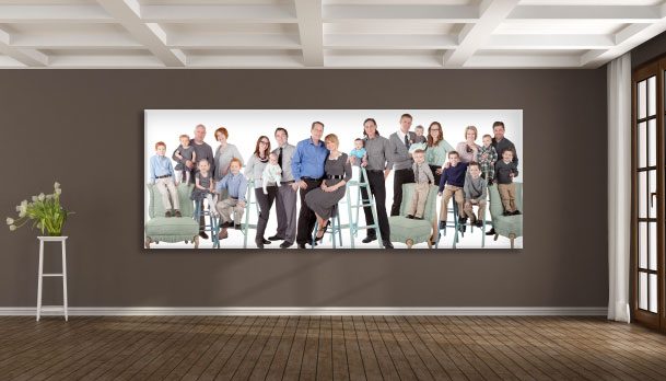 Phoenix Fine Family Portraiture Family Panoramic Art